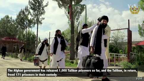 Afghan Government to Expedite Taliban Prisoners Release