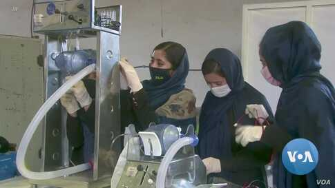 Afghan Girls Robotics Team Now Busy Making Ventilators