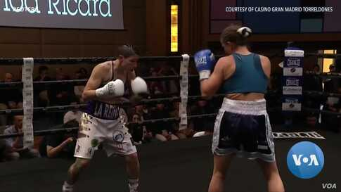 Champion Spanish Boxer Fights for Women's Rights