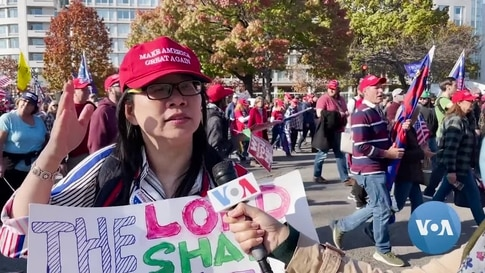 Trump Supporters Back Unproven Vote Fraud Claims