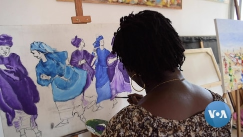 How a Senegalese Artist is Raising Awareness About Violence Against Women