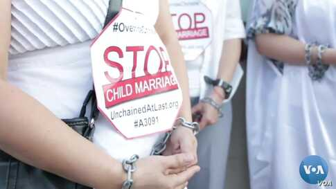 Rights Activists Push to Eliminate Child Marriage in US
