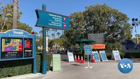California's Disneyland Resort Opens as 'Super' COVID-19 Vaccination Site
