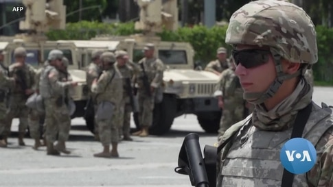 The US National Guard and Its Role
