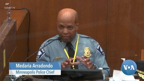 Police Chief: Chauvin's Actions Violated Policy