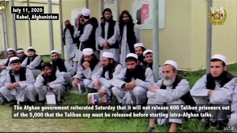 Afghanistan Refuses to Release 600 Taliban Prisoners Convicted of 'Serious Crimes'
