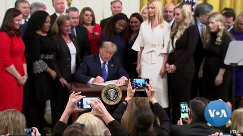 Trump Signs Executive Order in Effort to Combat Human Trafficking