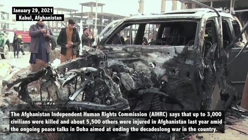 Up to 3,000 Civilians Killed in Afghanistan in 2020 Despite Doha Peace Talks