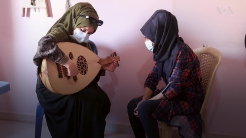 Music, Art Classes Replace IS Indoctrination in Syrian City