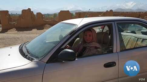 Women Drivers Hit the Road in Bamyan, Afghanistan