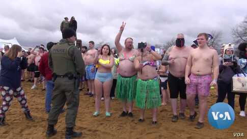 Maryland Town Hosts World's Largest Polar Bear Plunge for Charity