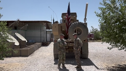 VOA Exclusive: InsideUSMilitary Base in Syria