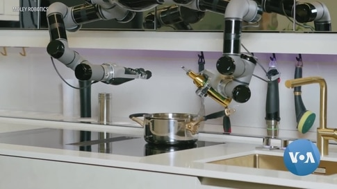 Robotic Kitchen May Revolutionize Home, Restaurant Cooking
