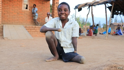 Malawi 9-Year-Old Defies Disability, Inspires Community