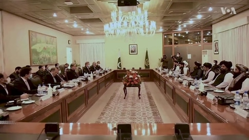 Taliban Delegation Visits Islamabad to Talk About Afghan Peace Process