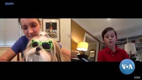 Children Go Virtual to Read Books to Therapy Dogs