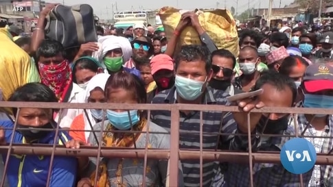 Nepal Struggling With 2nd COVID Wave as Migrants Rush Home From India