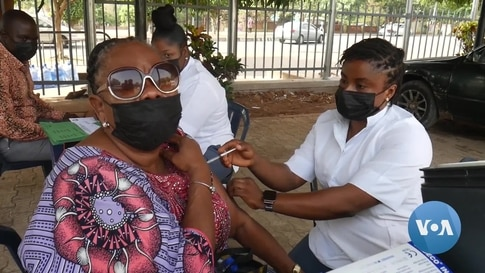 Nigerian Authorities Worry About Meeting Vaccination Targets