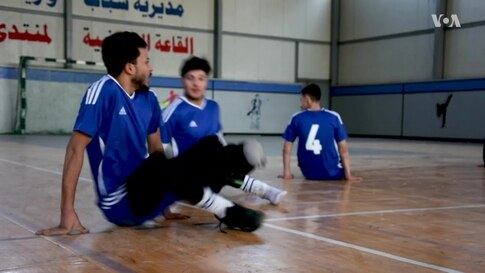 Iraqis Disabled by IS Pursue Volleyball Dreams