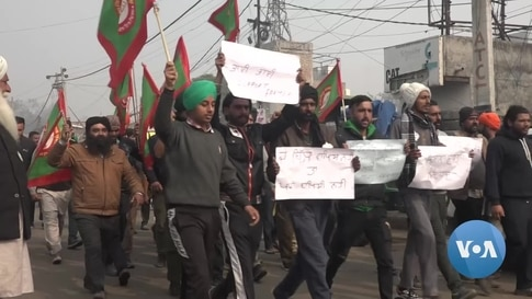 India's Farm Protests Highlight Youth Unemployment