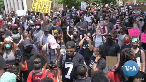 Saturday Floyd Protests —Largest Yet in Washington