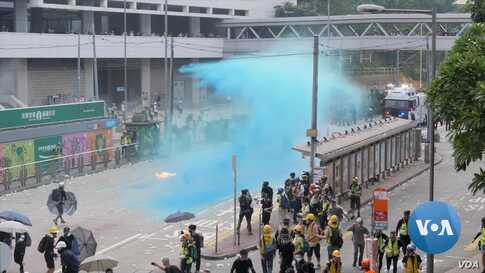 Hong Kong Police Shooting of Protester Escalates Potential for Deadly Clashes