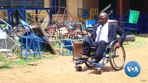Nigerian Polio Survivor Gives Hope To Thousands