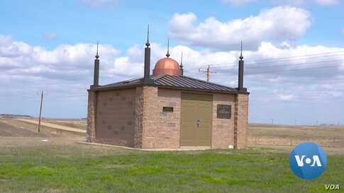 A North Dakota Prairie, Home to One of America's First Mosques