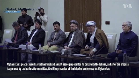Afghanistan Finalizes Draft Peace Proposal, While Taliban Not Ready for Istanbul Conference