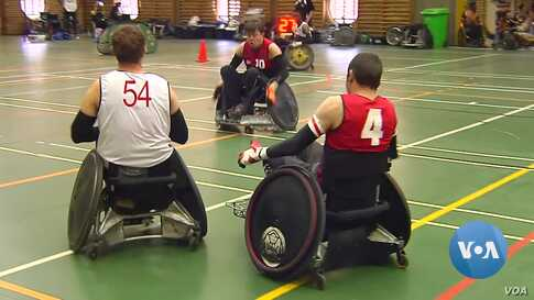 Africa's Only Wheelchair Rugby League Battles it Out