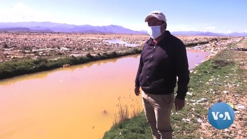 Plastic Pollution Packs the Surface of Bolivian Lake