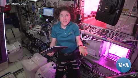 Astronauts Entertain, Educate Kids from ISS