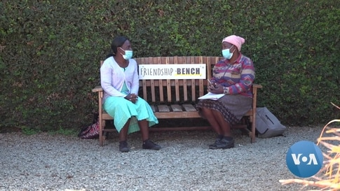 Stressed by COVID, Zimbabweans Turn to 'Friendship Bench' for Solace