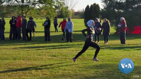 An American Runner's Dream Temporarily Derailed by Her Hijab