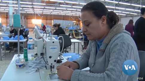 Iraq Garment Factory Fosters Multi-Ethnic Female Workforce