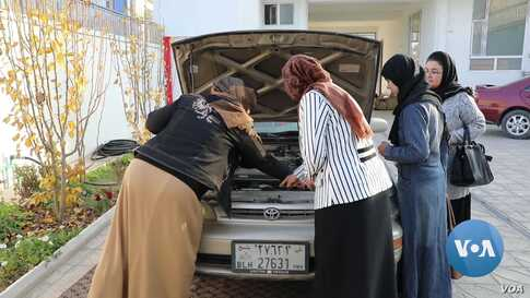 More Afghan Women Getting Driver's Licenses