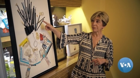 NYC Artist, There's No Trash – Only Treasure For Her Art