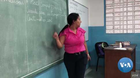 Venezuelan Parents Doing Double Duty as Teachers