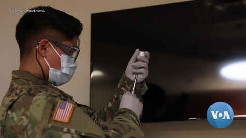 For US Troops, COVID-19 Vaccine Voluntary For Now