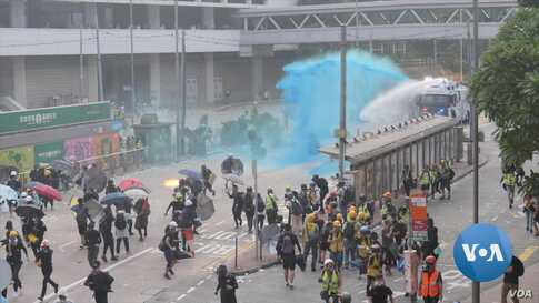 Hong Kong Becoming Conflict Zone for Journalists