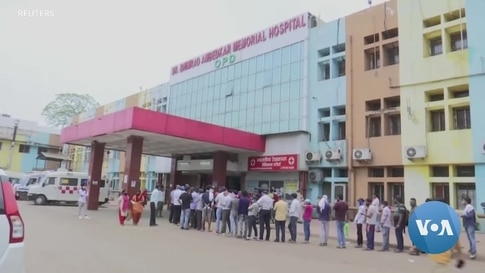 India's Hospitals Buckle Under Second Pandemic Wave