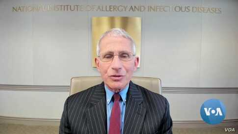 VOA Interview: Fauci Urges Protesters to Wear Masks; Optimistic about COVID Vaccine