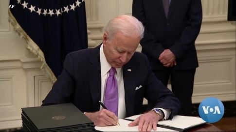 Biden's First Week as President: Reversals of Trump Policies Amid Talk of Unifying Country