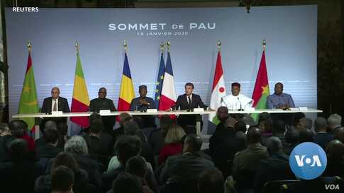 West African Leaders, France Vow Renewed Fight on Terror