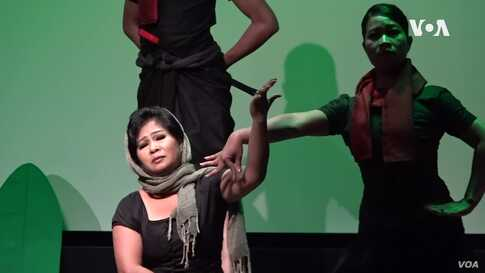 Cambodian Choreographer Promotes Healing Through Dance