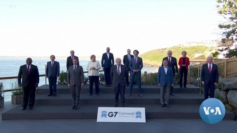 At Summit's End, G-7 Leaders Call Out China, Russia