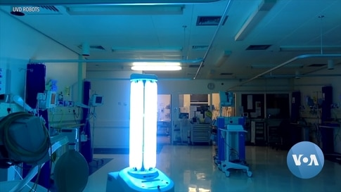 Robots Fight Coronavirus Using Light in Airports, Offices and Hospitals