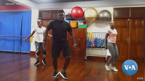 Ghanaians Staying Fit During Pandemic Thanks to Online Exercise Coaches