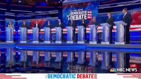 Democrats Turn on Trump and Each Other in Debate