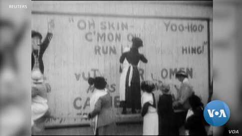 Washington, DC Commemorates Women's Suffrage Centennial